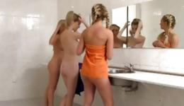 Are mistaken. Horny girls naked in shower sounds