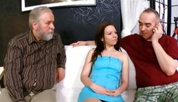 Notice lassie porn where breasty floosie doesn't mind having sexual intercourse with ugly old human